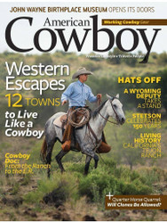 American Cowboy Magazine Subscription (US) - 6 iss/yr