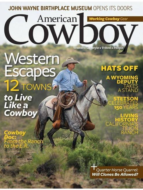 American Cowboy Magazine Subscription (US) - 6 iss/yr