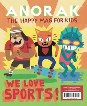 Anorak Magazine Subscription (UK) - 4 iss/yr