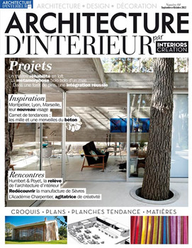 architecture interieure magazine subscription france. Black Bedroom Furniture Sets. Home Design Ideas