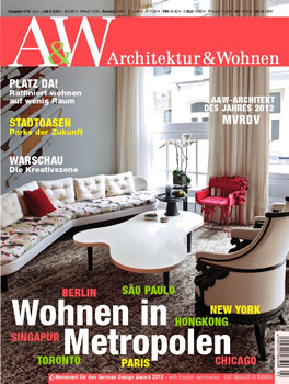Architektur und wohnen magazine subscription germany for Architektur und wohnen magazin