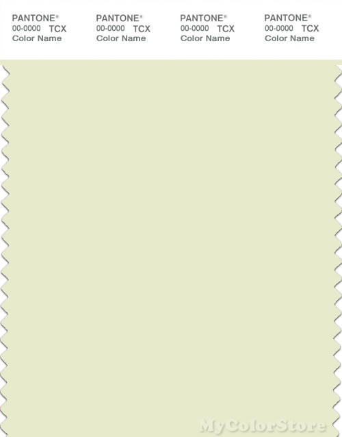 PANTONE SMART 11-0410X Color Swatch Card, Sylvan Green