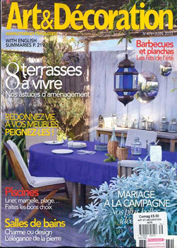 Art Et Decoration Magazine Subscription (France) - 9 iss/yr