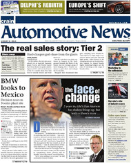 Automotive News Magazine Subscription (US) - 52 iss/yr