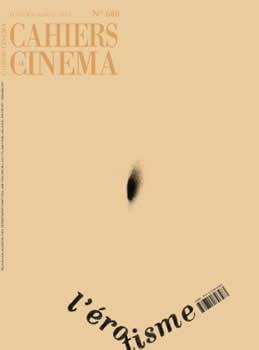 Cahiers Du Cinema Magazine Subscription (France) - 11 iss/yr