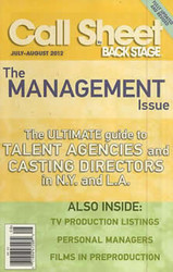 Call Sheet Magazine Subscription (UK) - 6 iss/yr