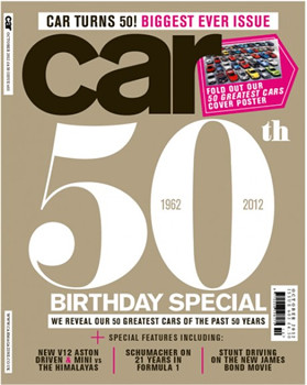 Car Magazine Subscription (UK) - 12 iss/yr