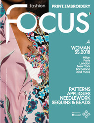 Fashion Focus Woman Print+Embroidery Subscription - 2 iss/yr (formerly Close-Up)