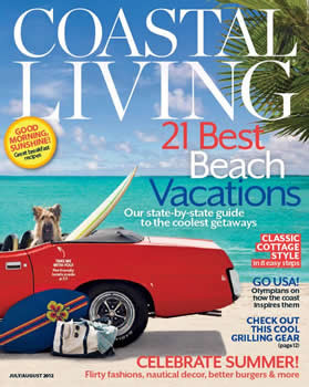 Coastal Living Magazine Subscription (US) - 9 iss/yr