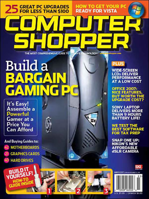 Computer Shopper Magazine Subscription (US) - 12 iss/yr
