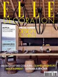 Elle Decoration Magazine Subscription (France) - 9 iss/yr