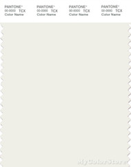 PANTONE SMART 11-4202X Color Swatch Card, Star White