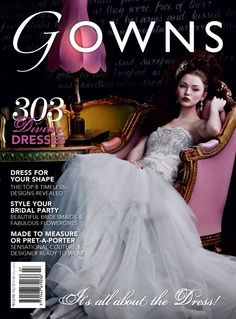 Gowns Magazine Subscription (Australia) - 1 iss/yr