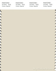 PANTONE SMART 12-0104X Color Swatch Card, White Asparagus