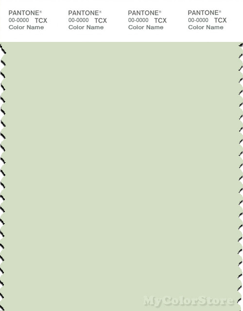 PANTONE SMART 12-0106X Color Swatch Card, Meadow Mist