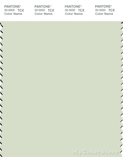PANTONE SMART 12-0108X Color Swatch Card, Canary Green