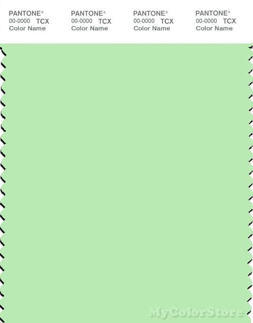 PANTONE SMART 12-0225X Color Swatch Card, Patina Green