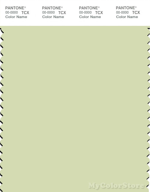 PANTONE SMART 12-0315X Color Swatch Card, White Jade