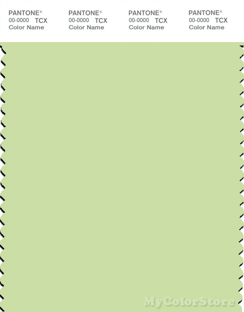 PANTONE SMART 12-0322X Color Swatch Card, Butterfly