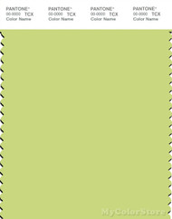 PANTONE SMART 12-0435X Color Swatch Card, Daiquiri Green