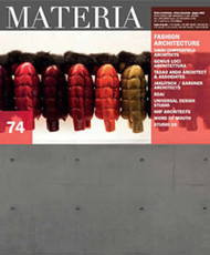 Materia Magazine Subscription (Italy) - 4 iss/yr