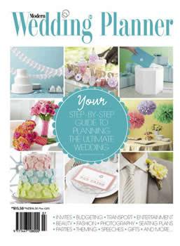 Modern Wedding Planner Magazine Subscription (Australia) - 1 iss/yr
