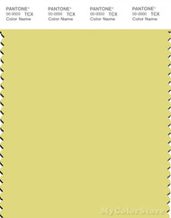 PANTONE SMART 12-0633X Color Swatch Card, Canary Yellow