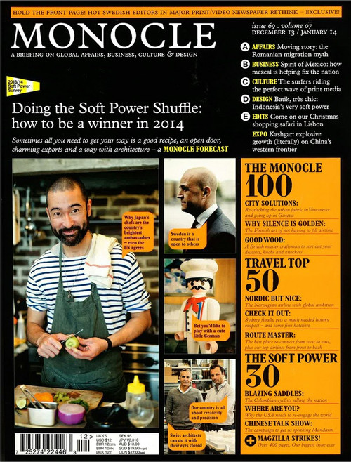 Monocle Magazine Subscription (UK) - 10 iss/yr