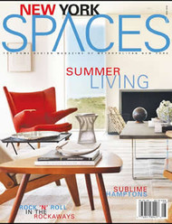 New York Spaces Magazine Subscription (US) - 10 iss/yr