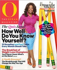 O The Oprah Magazine Subscription (US) - 12 iss/yr