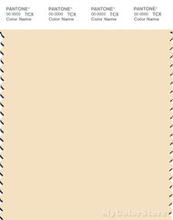 PANTONE SMART 12-0712X Color Swatch Card, Vanilla