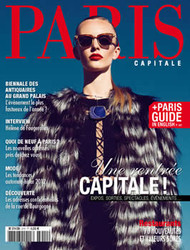 Paris Capitale Magazine Subscription (France) - 10 iss/yr