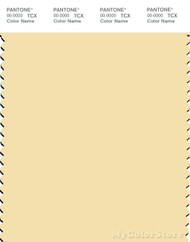 PANTONE SMART 12-0715X Color Swatch Card, Double Cream