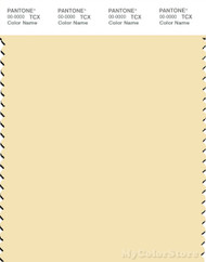 PANTONE SMART 12-0717X Color Swatch Card, Anise Flower