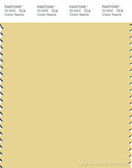 PANTONE SMART 12-0718X Color Swatch Card, Pineapple Slice