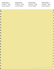 PANTONE SMART 12-0721X Color Swatch Card, Lemonade