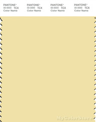 PANTONE SMART 12-0722X Color Swatch Card, French Vanilla