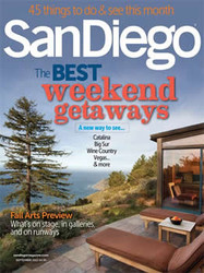 San Diego Magazine Subscription (US) - 12 iss/yr