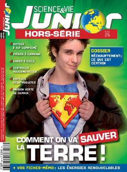 Science Et Vie Junior + Hs Magazine Subscription (France) - 16 iss/yr
