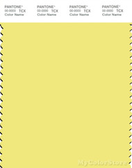 PANTONE SMART 12-0740X Color Swatch Card, Limelight