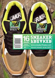Sneaker Freaker Magazine Subscription (Australia) - 3 iss/yr
