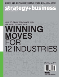 Strategy And Business Magazine Subscription (US) - 4 iss/yr