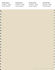 PANTONE SMART 12-0804X Color Swatch Card, Cloud Cream