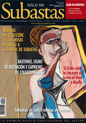 Subastas Siglo XXI Magazine Subscription (Spain) - 11 iss/yr