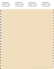 PANTONE SMART 12-0812X Color Swatch Card, Alabaster