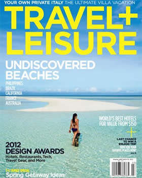 Travel + Leisure Magazine Subscription (US) - 12 iss/yr