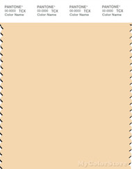 PANTONE SMART 12-0817X Color Swatch Card, Cream