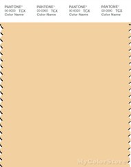 PANTONE SMART 12-0822X Color Swatch Card, Golden Fleece