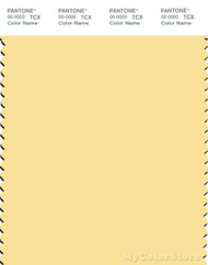 PANTONE SMART 12-0824X Color Swatch Card, Pale Banana