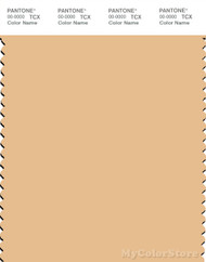 PANTONE SMART 12-0921X Color Swatch Card, Golden Straw